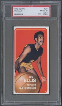 1970/71 Topps Basketball #28 Joe Ellis PSA 9 (MINT) (OC) *5323