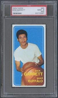 1970/71 Topps Basketball #85 Dick Garrett PSA 9 (MINT) (PD) *5361