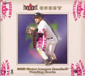 2003 Fleer Avant Baseball Hobby Box