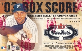 2003 Fleer Box Score Baseball Hobby Box