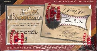 2003 Fleer Showcase Baseball Hobby Box