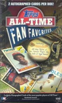 2003 Topps All-Time Fan Favorites Baseball Hobby Box