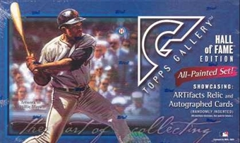 2003 Topps Gallery Hall of Fame Edition Baseball Hobby Box