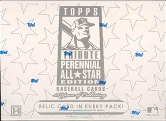 2003 Topps Tribute Perennial All-Star Edition Baseball Hobby Box