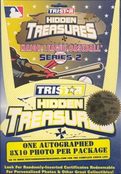 2003 Tristar Hidden Treasures Series 2 Baseball Autographed 8x10s Box