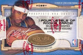 2003/04 Fleer Hoops Hot Prospects Basketball Hobby Box