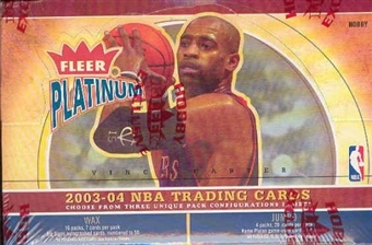 2003/04 Fleer Platinum Basketball Hobby Box