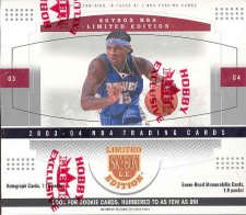 2003/04 Fleer Skybox Limited Edition Basketball Hobby Box