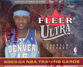 2003/04 Fleer Ultra Basketball Hobby Box
