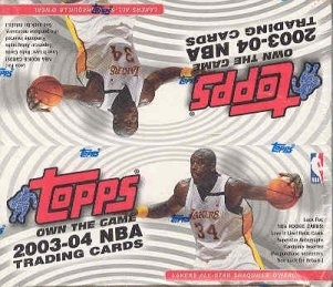 2003/04 Topps Basketball 24 Pack Box