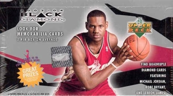2003/04 Upper Deck Black Diamond Basketball Hobby Box
