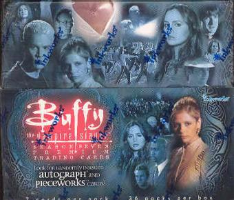 Buffy The Vampire Slayer Season 7 Hobby Box (InkWorks)