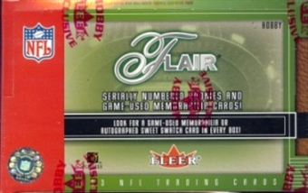2003 Fleer Flair Football Hobby Box