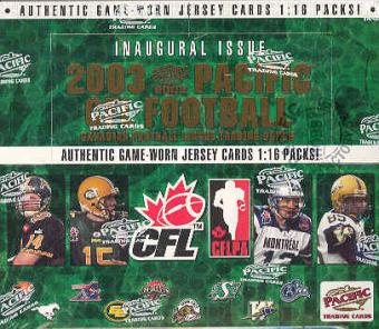 2003 Pacific CFL Football Hobby Box