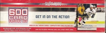2003/04 Be A Player In the Game Action Hockey Factory Set (Box)