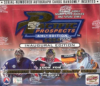 2003/04 Pacific Prospects AHL Edition Hockey Hobby Box