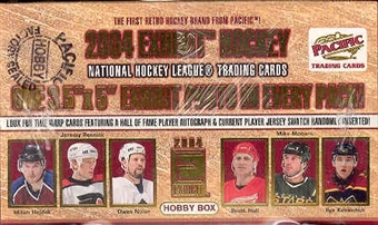 2003/04 Pacific Exhibit Hockey Hobby Box