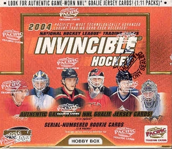 2003/04 Pacific Invincible Hockey Hobby Box