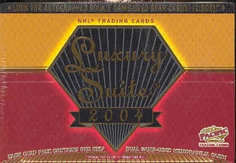 2003/04 Pacific Luxury Suite Hockey Hobby Box