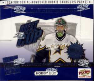 2002/03 Pacific Quest For The Cup Hockey Hobby Box