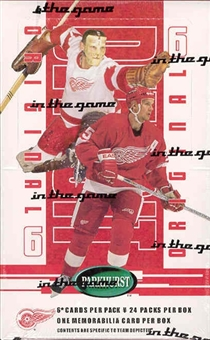 2003/04 BAP Parkhurst Original 6 Detroit Red Wings Hockey Hobby Box