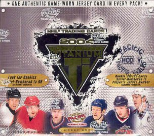 2003/04 Pacific Titanium Hockey Hobby Box