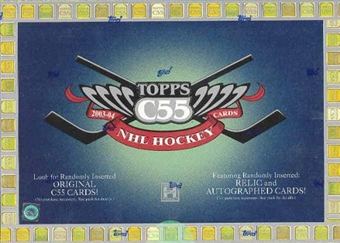 2003/04 Topps C55 Hockey Hobby Box