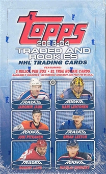 2003/04 Topps Rookie & Traded Hockey Hobby Box
