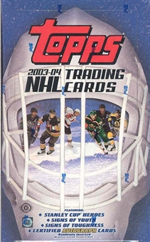 2003/04 Topps Hockey Hobby Box