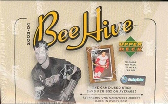 2003/04 Upper Deck Beehive Hockey Hobby Box