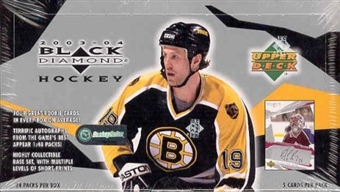 2003/04 Upper Deck Black Diamond Hockey Hobby Box