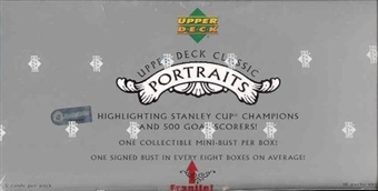 2003/04 Upper Deck Classic Portraits Hockey Hobby Box