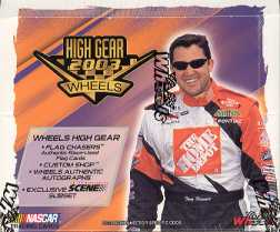 2003 Press Pass Wheels High Gear Racing Hobby Box