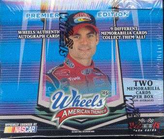 2003 Press Pass Wheels American Thunder Racing Hobby Box