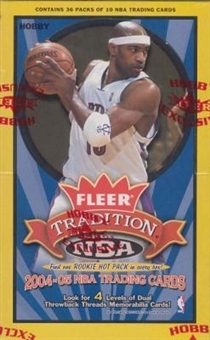 2004/05 Fleer Tradition Basketball Hobby Box