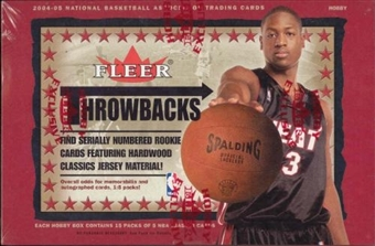 2004/05 Fleer Throwbacks Basketball Hobby Box