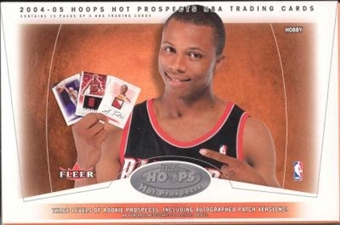 2004/05 Fleer Hoops Hot Prospects Basketball Hobby Box