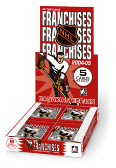 2004/05 In The Game Franchises Canadian Hockey Hobby Box