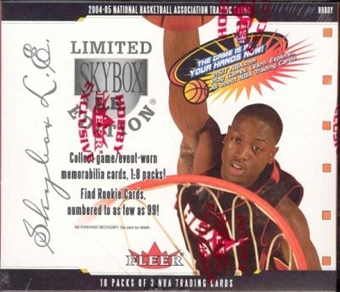 2004/05 Fleer Skybox LE Basketball Hobby Box