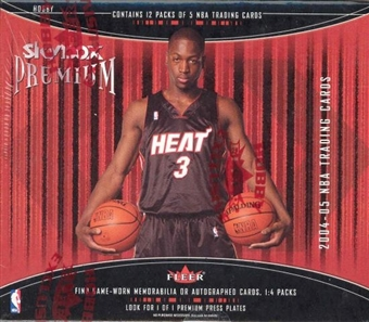 2004/05 Fleer Skybox Premium Basketball Hobby Box