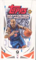 2004/05 Topps First Edition Basketball Hobby Box