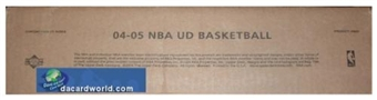 2004/05 Upper Deck Basketball 12 Box Hobby Case
