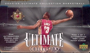 2004/05 Upper Deck Ultimate Collection Basketball Hobby Box