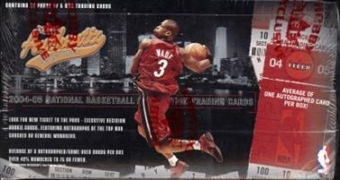 2004/05 Fleer Authentix Basketball Hobby Box