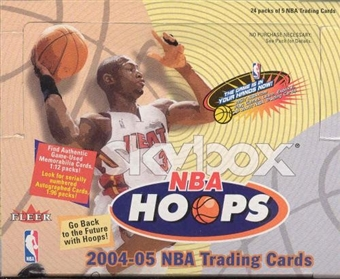 2004/05 Fleer Skybox Hoops Basketball Hobby Box