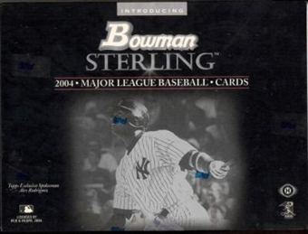 2004 Bowman Sterling Baseball Hobby Box