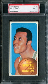 1970/71 Topps Basketball #143 Jo Jo White PSA 7 (NM) *3152