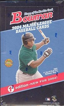 2004 Bowman First Edition Baseball Hobby Box