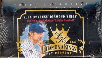 2004 Donruss Diamond Kings Baseball Hobby Box