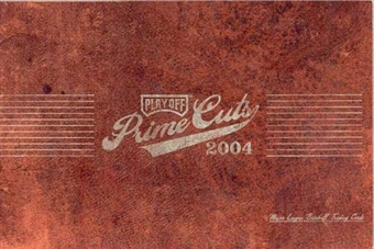 2004 Playoff Prime Cuts Series 1 Baseball Hobby Box